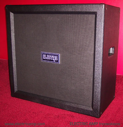 ELECTRIC AMP 4x12 Speaker Cabinet for Guitar and Bass Musicians